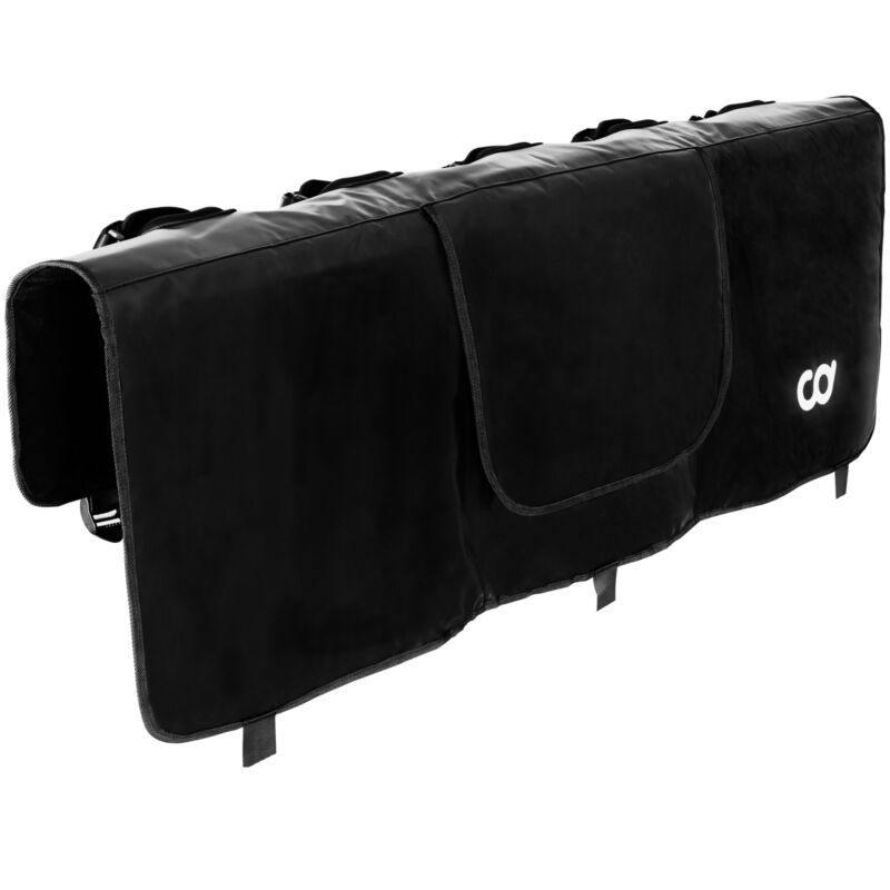 """Tailgate Pad MTB Bicycle Rack Cover Pickup Truck Bed - 52"""" W - 5 Mountain Bikes"""