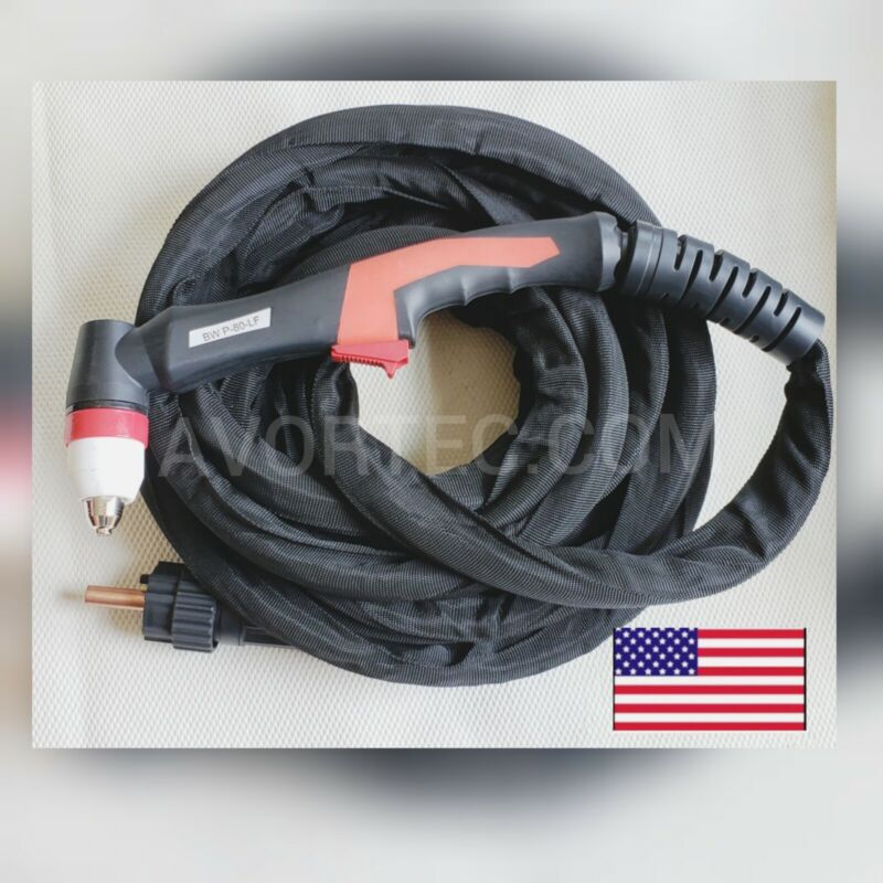 Plasma Cutter Torch P80 Pilot  Arc 60A 80A 26Ft for most Cutting Machine