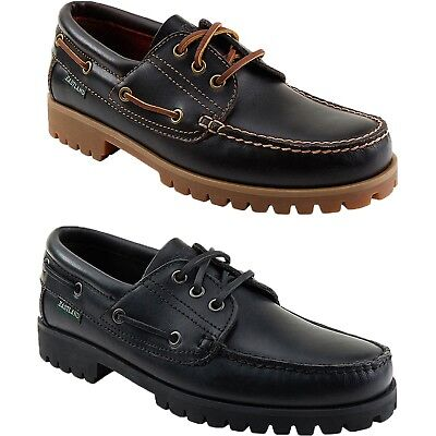 Mens Eastland Seville Classic Moc Toe Leather Oxford Shoes Black or -