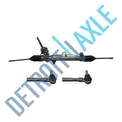 (Power Steering Rack and Pinion Assembly + Outer Tie Rod Buick Chevrolet AWD)