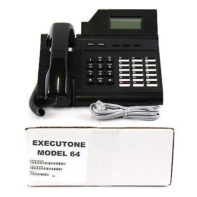 Executone Model M64 Grey Black Phone Bulk