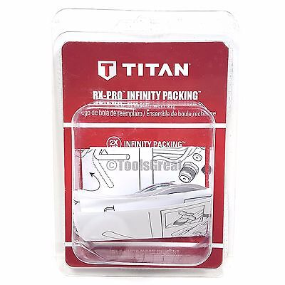 New Titan Infinity Packing Kit Rx-pro Spray Gun Ball Kit 0538221