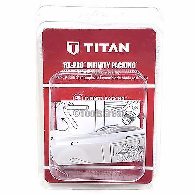 New Titan Infinity Packing Kit Rx-pro Spray Gun Ball Kit 0538221