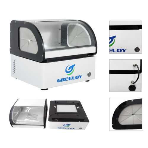 Greeloy 60W Dust Collector & Filter Dental Dust Collector Extractor Machine