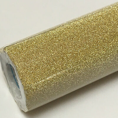 """GOLD Glitter Dust Flake Vinyl Contact Paper Drawer Liner Peel & Stick 13.5""""x 4ft for sale  Shipping to India"""