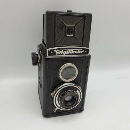 Voigtlander Brilliant TLR Medium Format 120 Roll Film Camera Voigtar 7.5cm F7.7