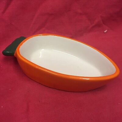 "Quail Bowl Pot Carrot Shaped 5"" Dish Water Food Seed Bantam Budgies Cockatiel"