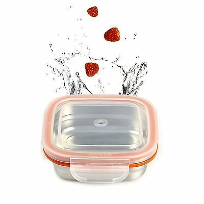 STENLOCK Stainless Steel Food Storage Airtight Container Side dish NO3 240ml