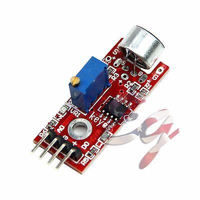 Microphone Sensor Avr Pic High Sensitivity Sound Module For Arduino