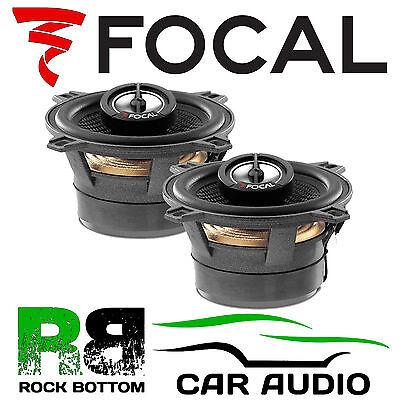 "Focal 100CA1 ACCESS CA1 4"" 10cm 80 Watts 2 Way Coaxial Car Stereo Speakers Pair"