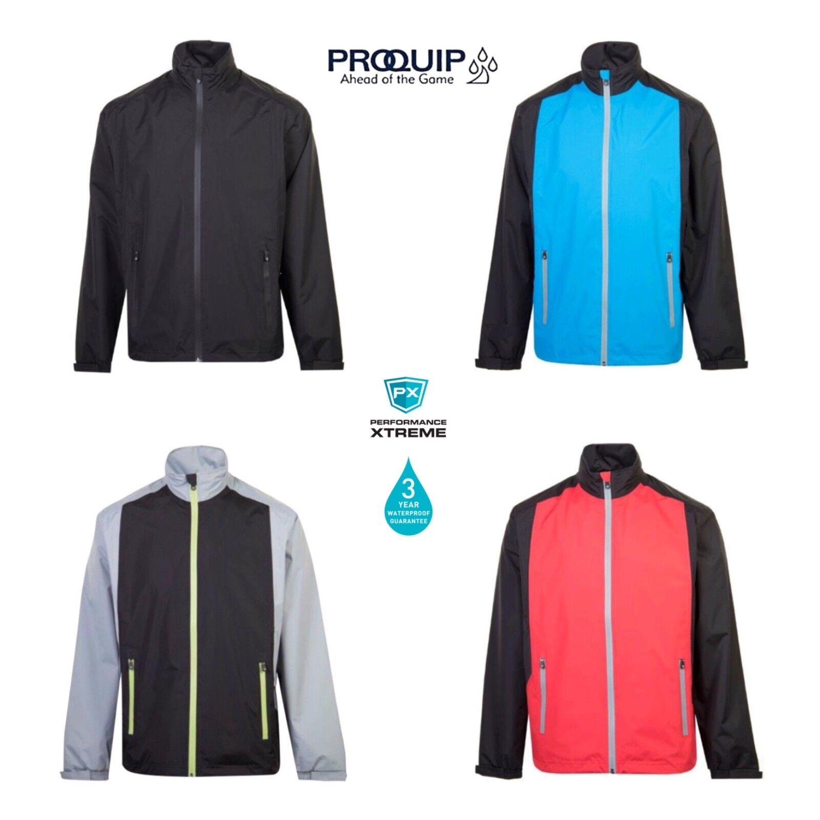 ProQuip Junior Boys//Girls Tempest Waterproof Full Zip Jacket 2020 NEW