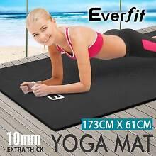 Extra Thick 10mm NBR Yoga Mat Gym Pilates Fitness Exercise Adelaide CBD Adelaide City Preview