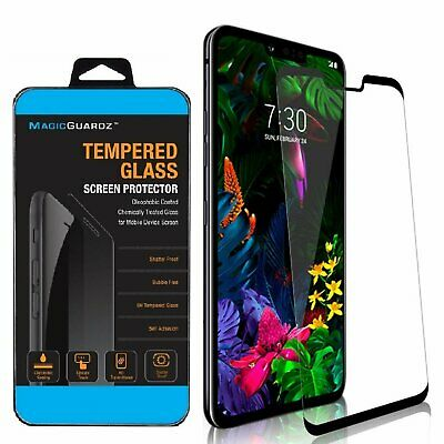 MagicGuardz® Full Cover Tempered Glass Screen Protector Guard For LG G8 ThinQ Cell Phone Accessories