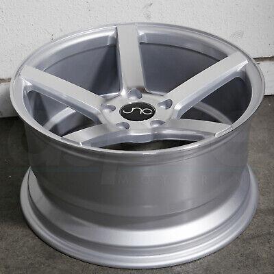 20x8.5/20x9.5 Silver Machine Face Wheels JNC 026 JNC026 5x114.3 40/32 (Set of 4)