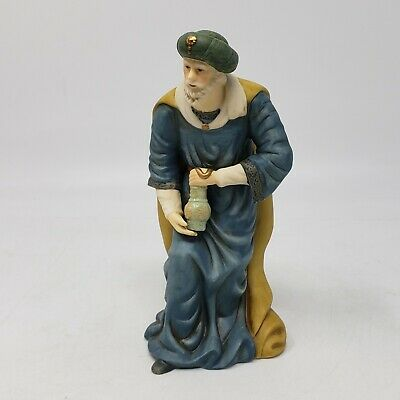 """Heritage Replacement Wise Man Porcelain Nativity Set Handpainted Collectible 7"""""""