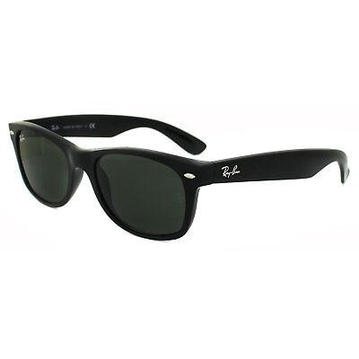 Ray-Ban Sonnenbrille Neu Wayfarer 2132 901 Hochglanz Schwarze Grün G-15 Klein
