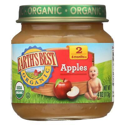 EARTH's BEST ORGANIC JAR BABY FOOD * Apples * Sweet Potatoes * Squash *