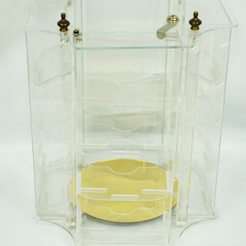 Vintage Acrylic Jewelry Display Case Retail