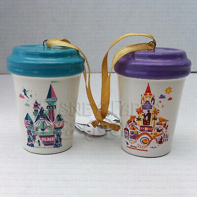 Disney Parks Disneyland California Adventure Starbucks Mini Tumbler Ornaments