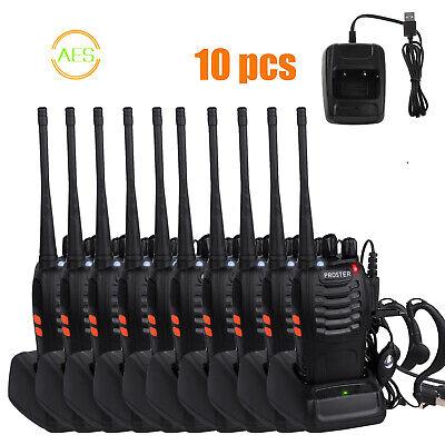 Usado, 10x Proster bf-888s Walkie-Talkie 2-way RADIO UHF Individual Bandas 400-470mhz segunda mano  Baezuela