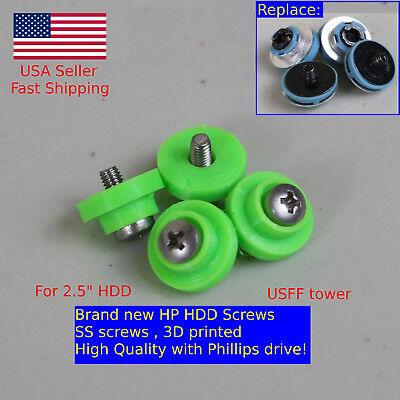 4X HP HDD Mounting Screws 6000 6005 Pro 8000 8100 EliteDesk ProDesk G1 G2 USFF comprar usado  Enviando para Brazil