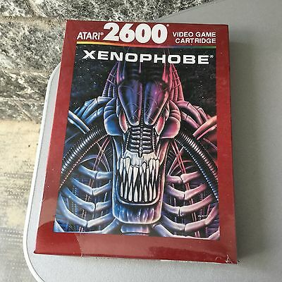 VINTAGE# XENOPHOBE ATARI 2600#MOD CX26172 #NIB FACTORY SEALED