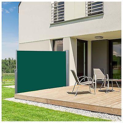 Nemaxx Seitenmarkise 180x300 cm Markise Sichtschutz Sonnenschutz Windschutz