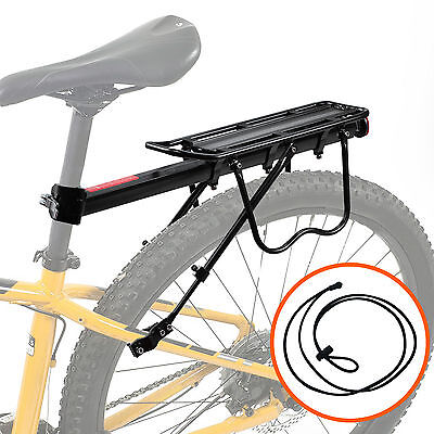 Bike Rear Rack Carrier Luggage Cargo Pannier Seat Post Mount Bicycle Cycling