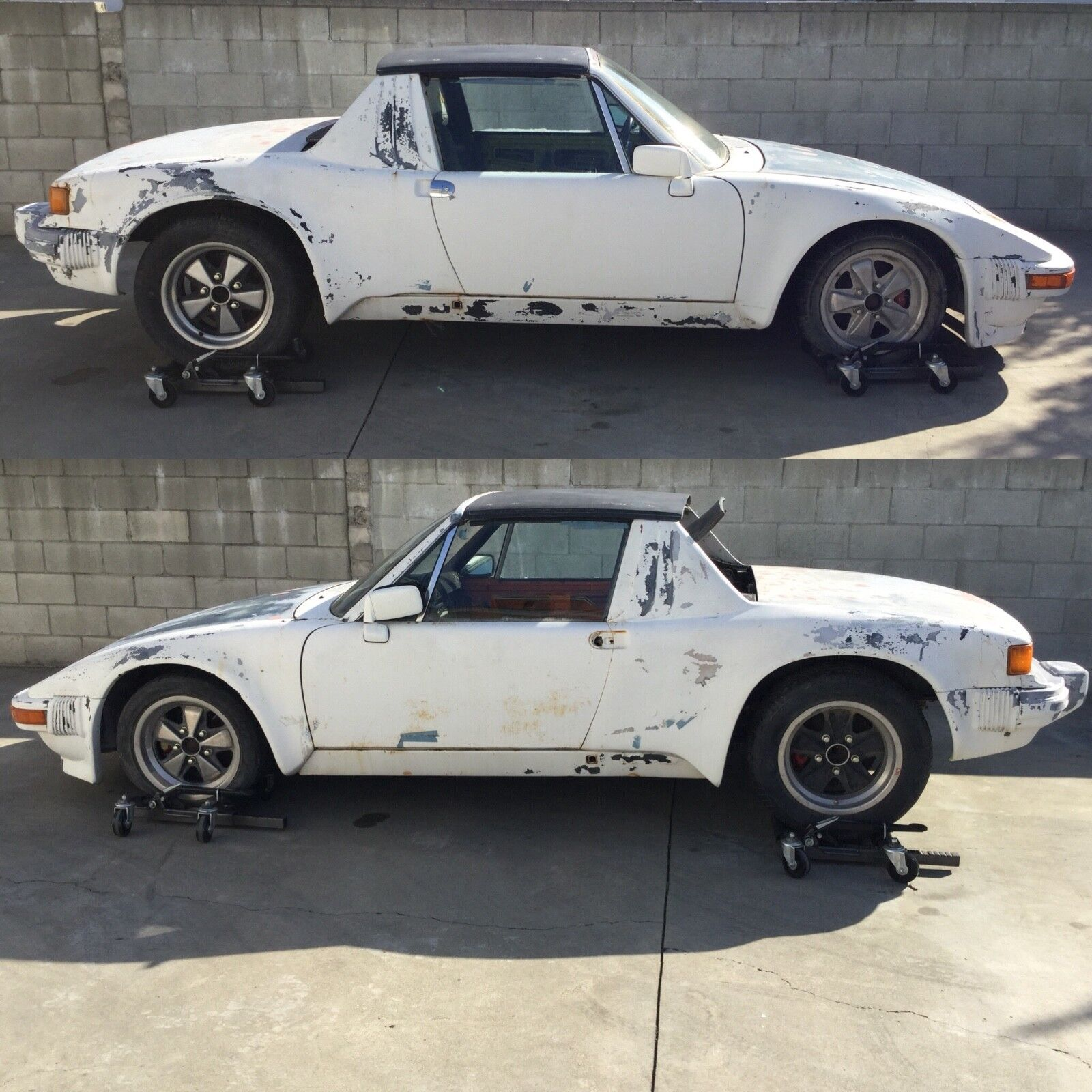 1974 Porsche 914  Porsche 914 Chevy V8 conversion car w/ heavy modifications slant nose 1974 5 Lug