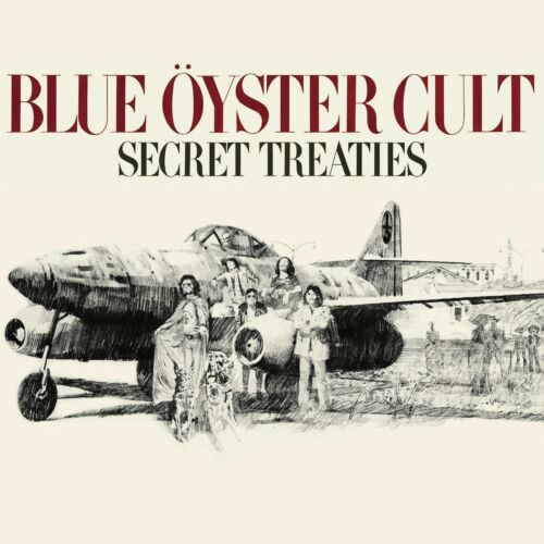 BLUE OYSTER CULT Secret Treaties BANNER HUGE 4X4 Ft Fabric Poster Tapestry Flag