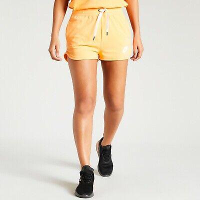 Nike Women's Air Fleece Shorts Summer Short BQ6514-882 - Orange