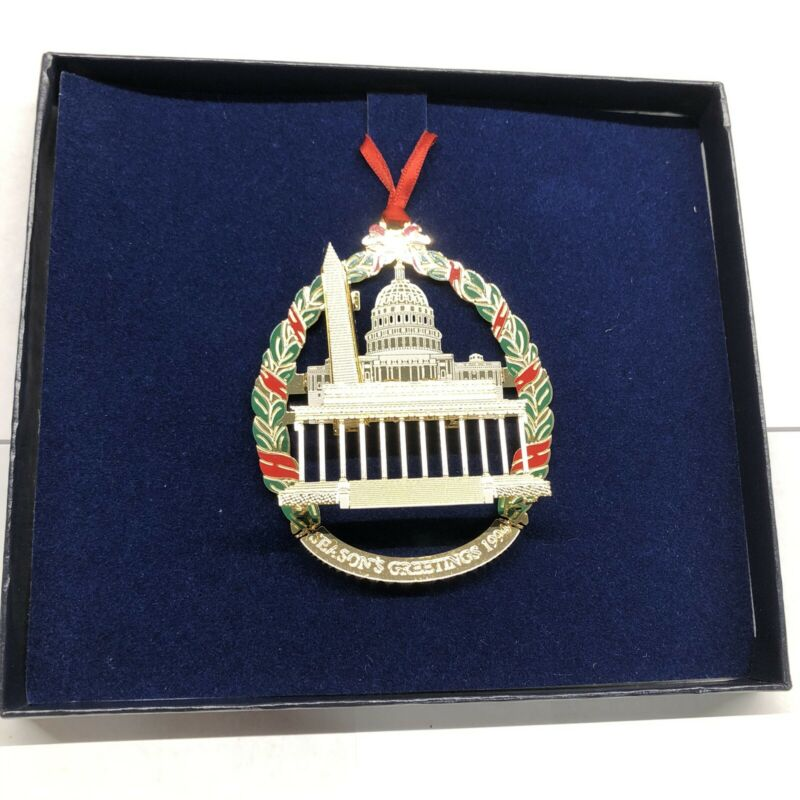 National Security Agency NSA 1994 Capitol Monument Ornament FREE SHIPPING
