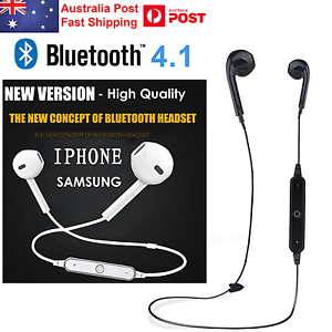 Wireless Sport Mic Bluetooth 4.1 Earphone for iPhone / Samsung
