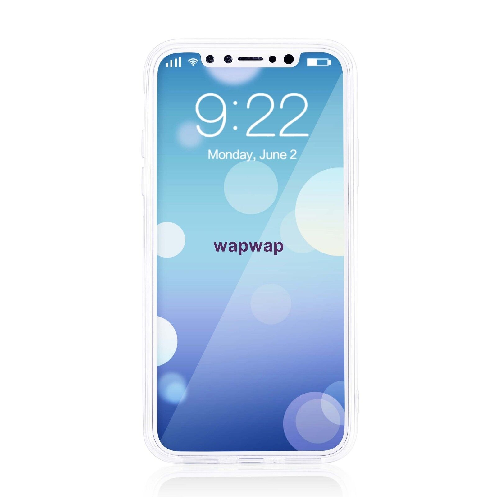 For Apple iPhone X XS Case Silicone Clear Bumper Gel iPhone 10 10S Cover 8