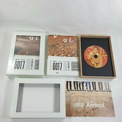 GOT7 Album Flight Log : Arrival Official Original Never Ever CD photobook K-POP