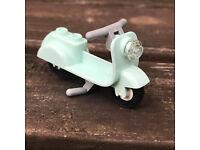 BAUANLEITUNG Eigenbau PDF Anhänger Vespa Roller für LEGO® Steine zB VW10252