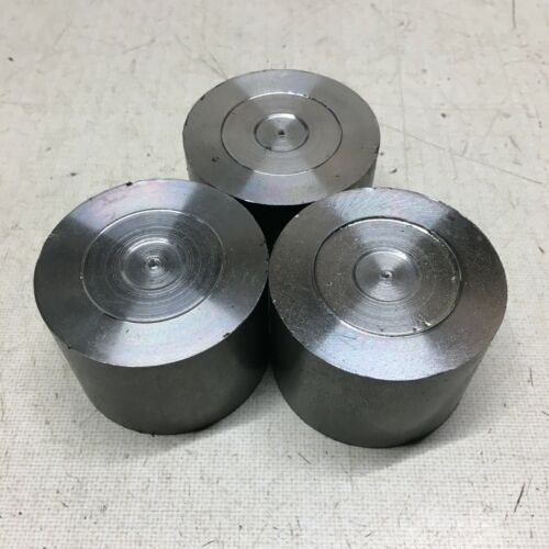 "2"" Diameter 1141 Steel Bar End Scrap Lot. 3 Pieces."