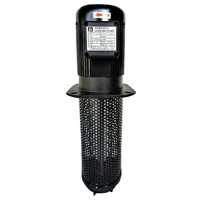 12hp Cnc Machine Coolant Pump 3 Ph 220440v 290mm11.4 Ptbspt 34
