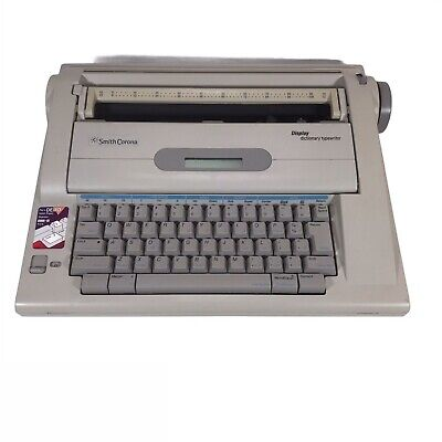 Smith Corona Na3hh Display Dictionary Typewriter Word Processor - Works Great