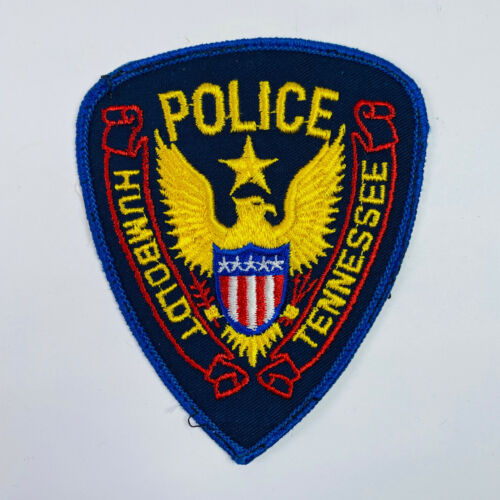 Humboldt Police Tennessee Patch