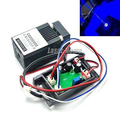 445nm 450nm 300mw Blue Dot Laser Diode Module 12v Wttl Driver Fan
