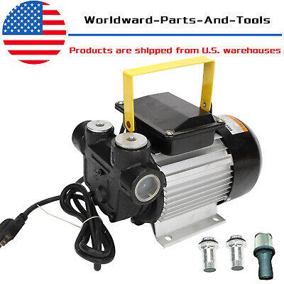 16gpm 550w Oil Diesel Fuel Transfer Pump Self Priming 110v Ac 60lmin Pump