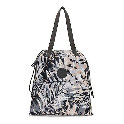 Kipling Small Tote Shopper Bag NEW HIPHURRAY URBAN PALM Print SS20 RRP £34