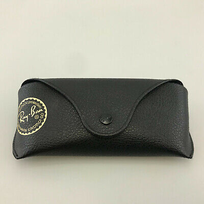 Ray-Ban Sunglasses Case Only Black Faux Leather Wayfarer Size Medium (Ray Ban Wayfarer Case Only)