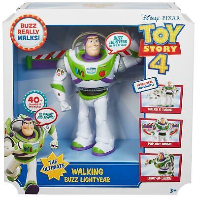 Toy Story Buzz Lightyear Walking Talking Electronic Figure GDB92 Disney Pixar