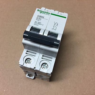 Schneider / Leistungsschutzschalter Circuit Breaker / C60N-D6A