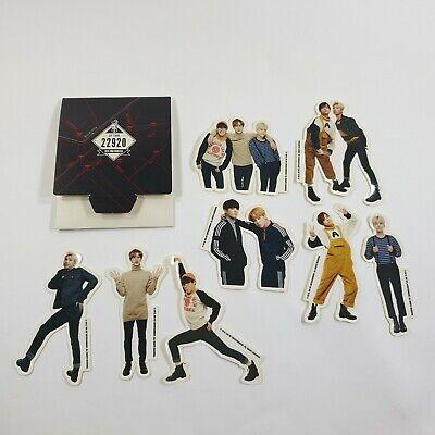 BTS 2nd Muster Zip Code 28261 Official Original MD Goods Sticker K-POP Opened