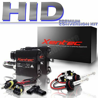 Honda Civic Headlight Low Beam High Beam Fog Light Slim Xenon HID Kit All Color