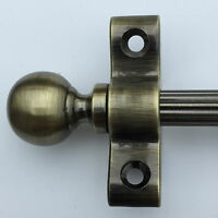 Ottone Anticato 1cm Asta Scala Perni A Sfere Ornamento Terminale (r02reb) -  - ebay.it