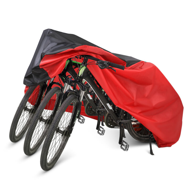 Waterproof Bicycle Mountain Bike Cover Outdoor Rain Dust Protector w/Storage Bag